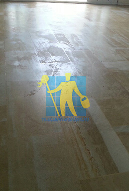 sandstone tile damaged floor